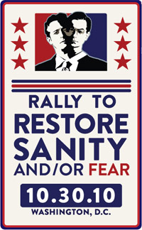 Restore the Sanity or Fear rally