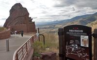 Red Rocks Park and Amphitheatre Entrance