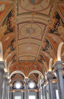 Ceiling, arches - Library of Congress