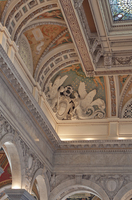 Ceiling detail, Library of Congress