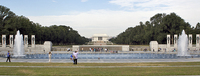 Lincoln Memorial from the World War II Memorial