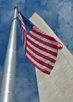 American Flag; Washington Monument