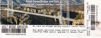 Ticket to drive over the bridge