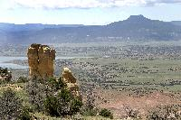 Chimney Rock and Distant Butte