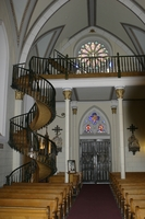 Famous Floating Staircase, Loretto Chapel, and Choir Loft