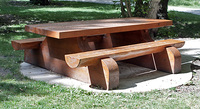 The turn-outs are so well maintained and done - see this brilliant picnic table