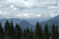 Looking West from Sourthern Base of Mount Rainier